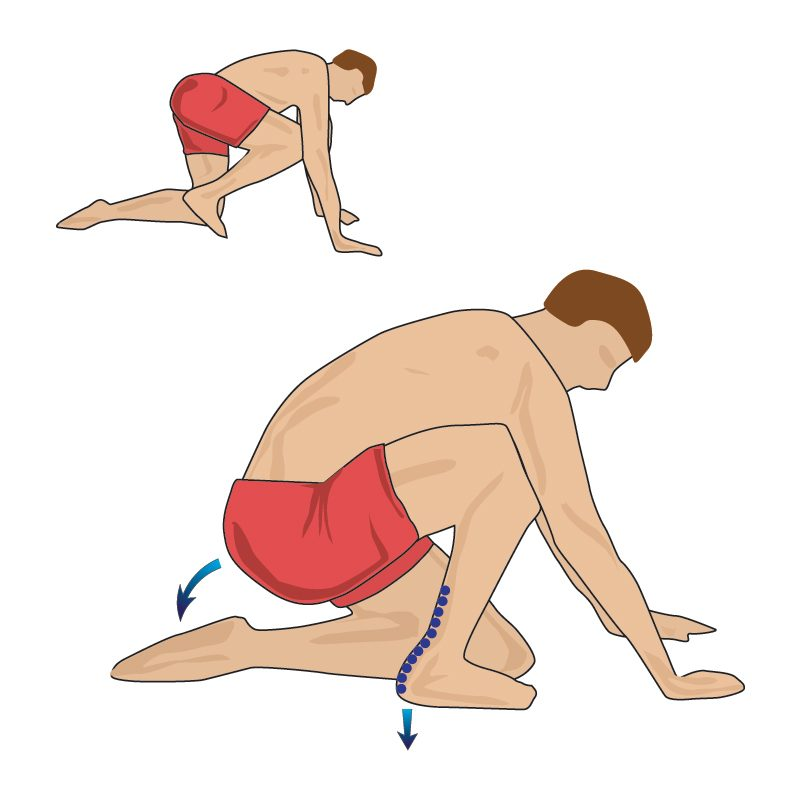 Achilles Soleus Stretch