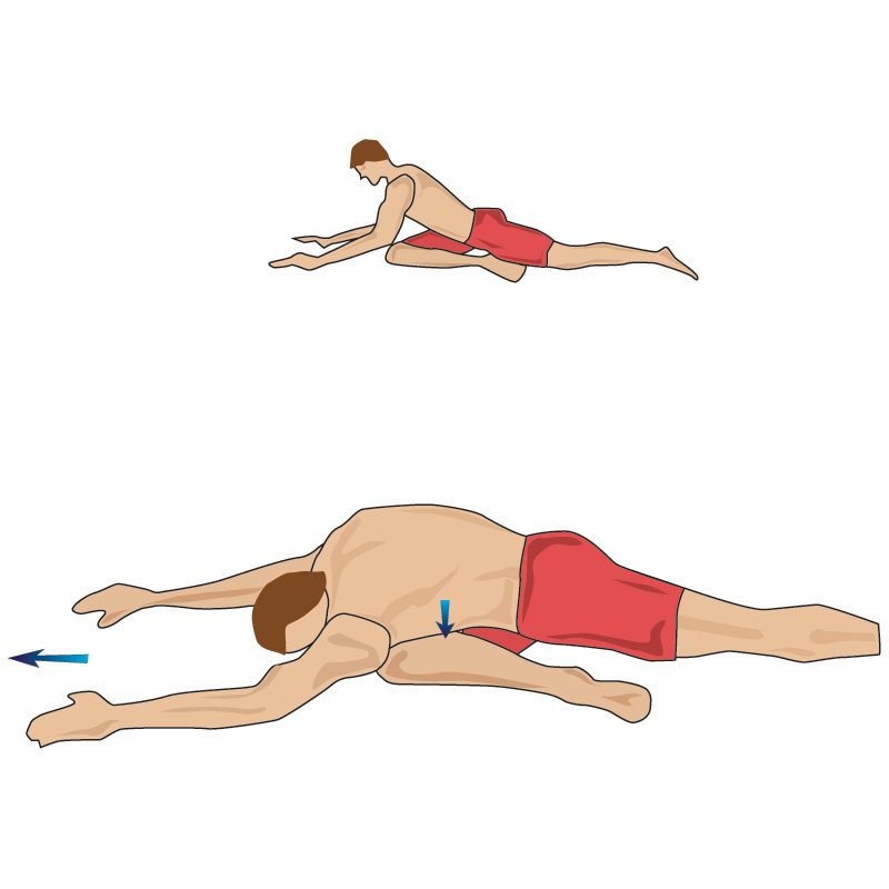 Deep Gluteal Buttock Stretch