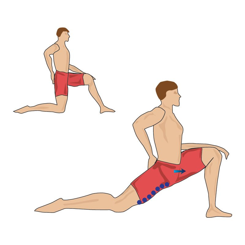 Hip and Thigh Stretch